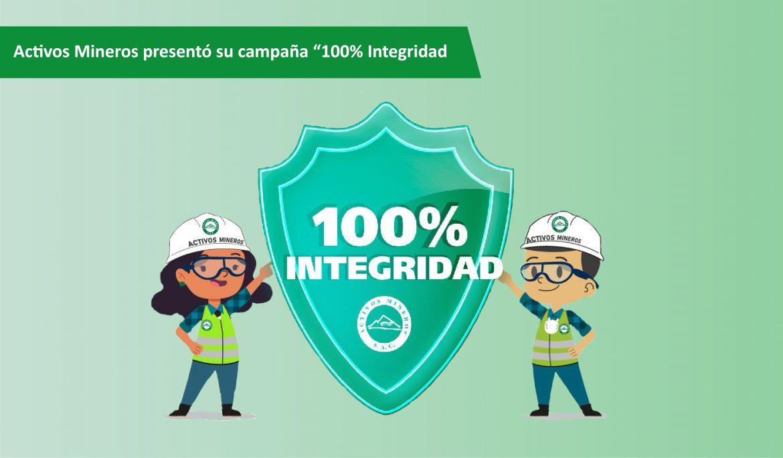 """Activos Mineros presentó su campaña """"100% Integridad"""""""